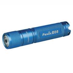 Фонарь-брелок на ключи Fenix E05 синий 85 люмен (34231)