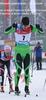Раздельный лыжный гоночный комбинезон NordSki Premium Black-Green