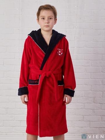 RONALDO (Red)  халат для мальчика  Five Wien (Турция)