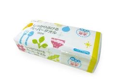Бумажные полотенца для кухни L-D, 100шт