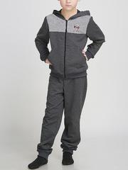 B3-7 костюм спортивный дет., серый