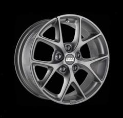 Диск колесный BBS SR 8x18 5x112 ET21 CB66.5 satin himalaya grey