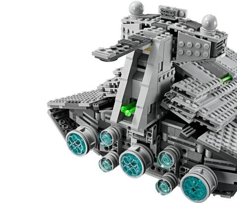 LEGO Star Wars: Имперский Звёздный Разрушитель 75055 — Imperial Star Destroyer — Звездные войны Стар Ворз