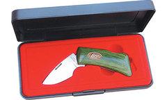 Нож/зажим для денег KATZ в подароч. коробке модель MC JW Bobcat