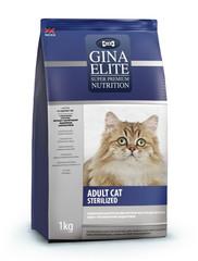 Gina Elite ADULT CAT Sterilized полнорационный корм высшей категории качества для стерилизованных кошек