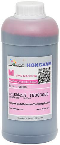 Чернила водные DCTec 7900D vivid magenta dye 1 л. Серия 109500