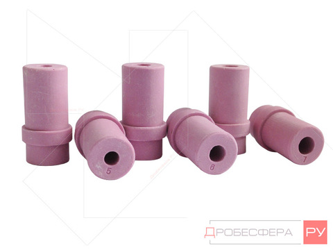 Сопла керамические для камер 350 литров набор 5, 6 и 7мм AE&T
