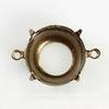 Сеттинг - основа - коннектор (1-1) для страза 14 мм (оксид латуни)