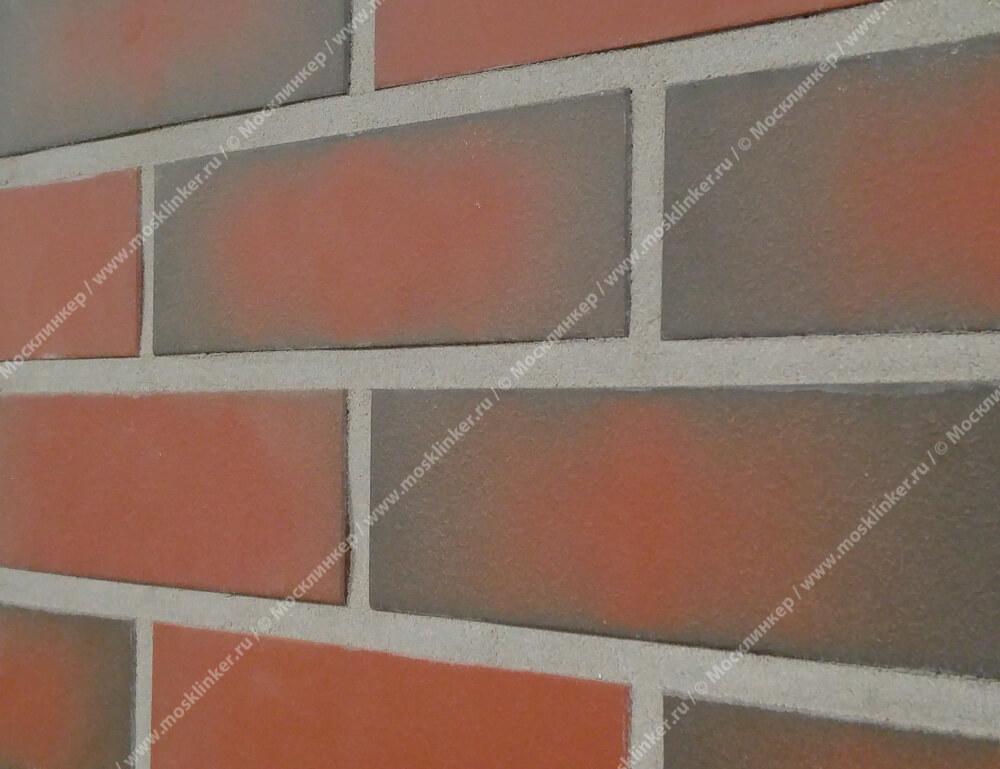 Плитка-клинкер под кирпич Roben, Westerwald, цвет пестрый (bunt), гладкая (glatt)