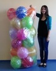 Пакет для транспортировки надутых шаров, 120*240 см