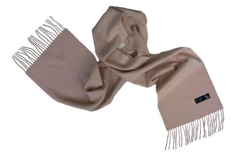 Шерстяной шарф серый 01505