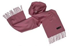 Шерстяной шарф темно-розовый 01506