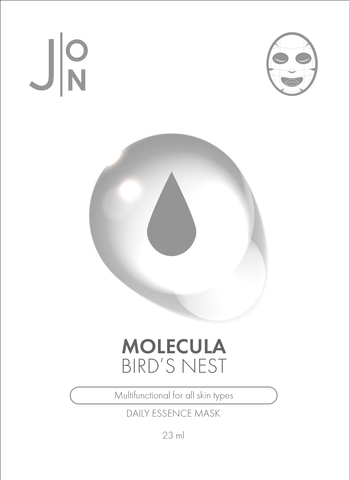 J:ON Тканевая маска для лица ЛАСТОЧКИНО ГНЕЗДО MOLECULA BIRD'S NEST DAILY ESSENCE MASK 23 мл