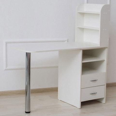 Маникюрный стол складной Комфорт №3 правосторонний