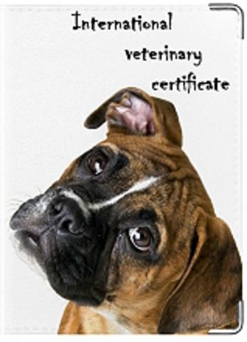 """Обложка для ветеринарного паспорта """"Ветеринарный паспорт"""" (9)"""