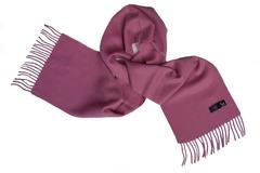 Шерстяной шарф сиреневый 01507