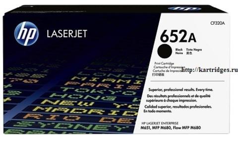 Картридж Hewlett-Packard (HP) CF320A №652A