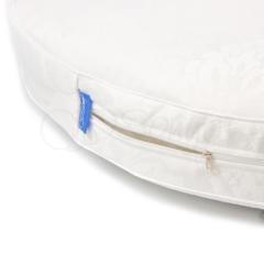 Матрас в овальную кроватку для новорожденного 120х70