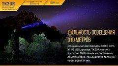 Фонарь Fenix TK20R 1000 люмен