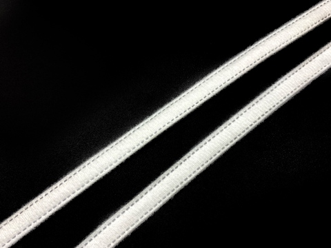 Лента тоннельная двухшовная белая