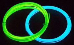 PLA cветящийся пластик для 3Д ручки - 10 метров