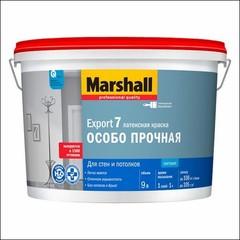 Краска латексная для стен и потолка Marshall EXPORT-7 BW (Прозрачный)