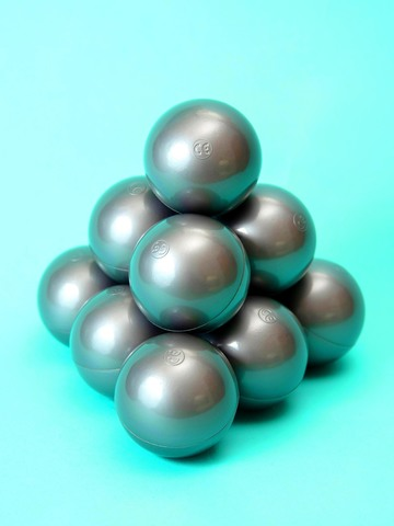 Шарики для сухого бассейна Серебро комплект 50 шт.