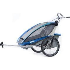 Многофункциональная детская коляска, Thule, Chariot CX2, 2-мест. + ПОДАРОК