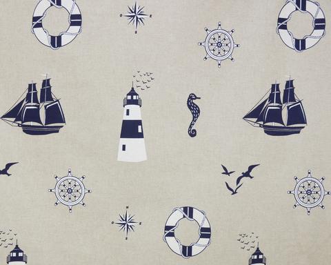 Хлопковая штора с подхватом Крафт