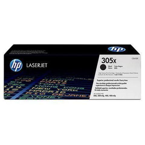 Картридж HP CE410X (HP 305X) для принтеров HP LaserJet Pro color M351a, M375nw, M451dn, M451dw, M451nw, MFP M475dn, M475dw (черный увеличенной емкости, 4000 стр.)