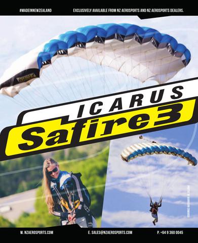 Основной парашют Safire-3