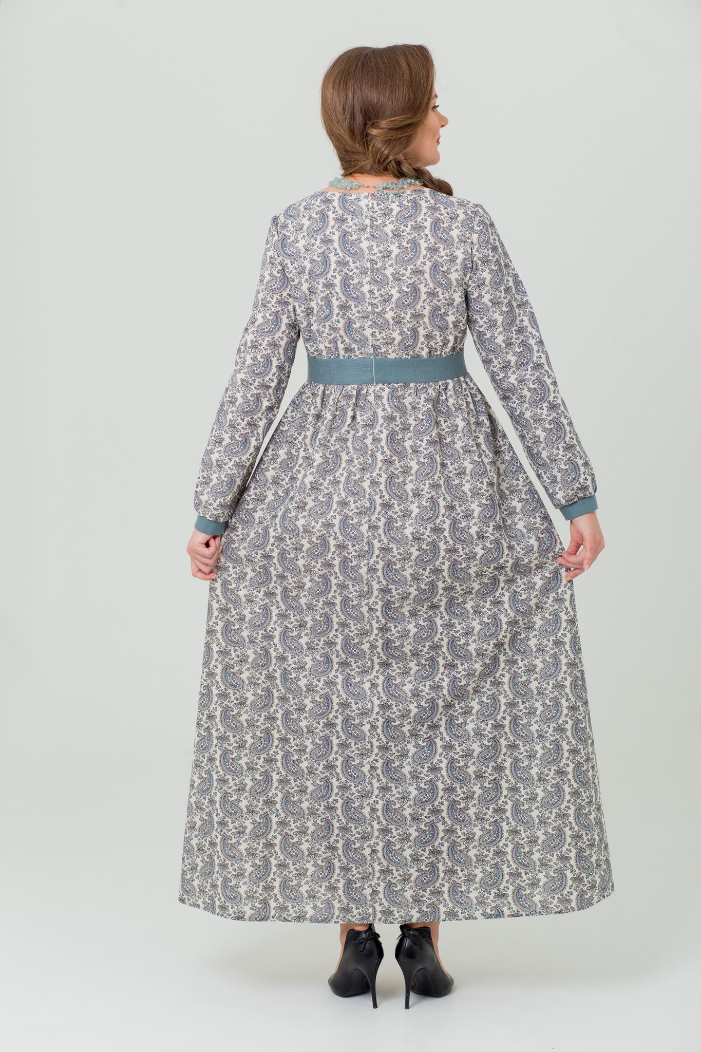 Платье льняное Славное в пол