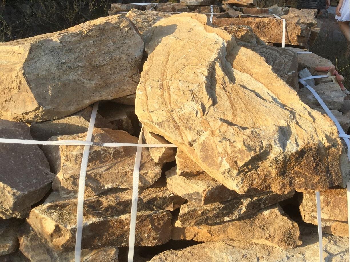 ясень бутовый камень ландшафтный, отгрузка на подоне с карьера