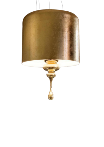 replica  Eva S3+1 pendant lamp (gold)