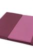 Постельное белье 1.5 спальное Caleffi Bicolor бордовое