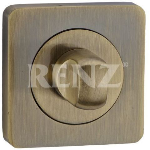 Фурнитура - Завёртка К Ручкам  Renz BK 02, цвет бронза античная