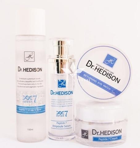 Набор для премиум ухода от Dr.Hedison 7 Peptide Line для возрастной кожи