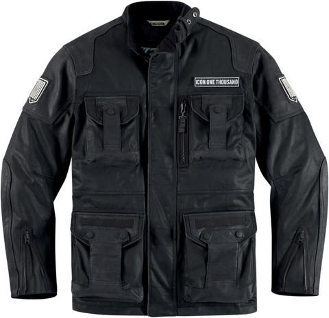 Мотокуртка - ICON 1000 BELTWAY (текстиль, черная)