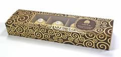 Кедровый грильяж в шоколадной глазури, Сибирский кедр, с клюквой, 85 г.