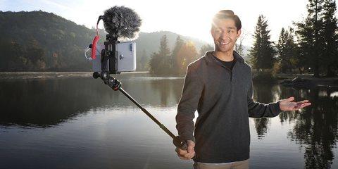 Штатив Joby GripTight PRO TelePod пример использования