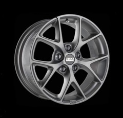 Диск колесный BBS SR 7.5x17 5x120 ET35 CB82.0 satin himalaya grey