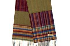 Шерстяной шарф разноцветный 30721