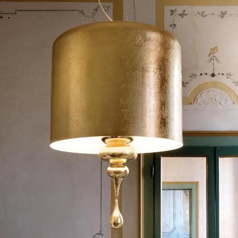 replica  Eva S3+1 pendant lamp (gold)