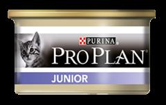 Влажный корм, Purina Pro Plan JUNIOR, для котят, с курицей