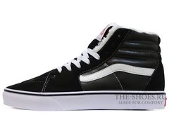Кеды Vans Sk8-Hi Old Skool Black White (C Мехом)