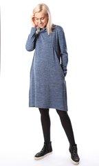 Евромама. Платье трикотажное для беременных и кормящих, индиго