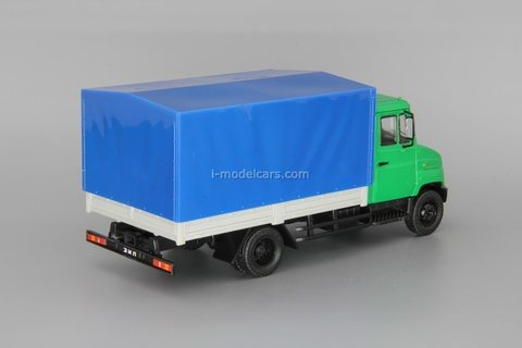 ZIL-5301 Bychok Goby with awning 1:43 DeAgostini Auto Legends USSR Trucks #37