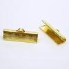Концевик для лент 20 мм (цвет - золото), 2 штуки