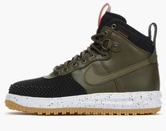 Кроссовки Мужские Nike Lunar Force 1 DUCKBOOT Black Khaki White Speck