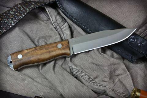 Туристический нож Т-1 Полированный Орех